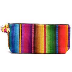Serape Striped Cosmetic Bag - Handbags & Scarves - National Cowboy Museum
