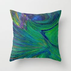 Synchronicity Throw Pillow by LILY NAVA GALLERY - $20.00