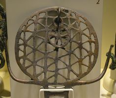 Hittite sun standard from Alacahöyük, 2500 BC. Not so often recognized equilateral triangle / hexagon lattice geometric model. Artifacts found from The Museum of Anatolian Civilizations in Ankara, Turkey. (Photo by Marko Manninen)