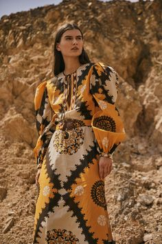 Johanna Ortiz Pre-Fall 2021 collection, runway looks, beauty, models, and reviews. Vogue Fashion, Fashion Show, Dress Me Up, Runway, 21st, Style Inspiration, Models, Fall, Winter
