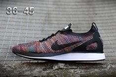 brand new 517d8 4c267 Mens Womens Nike Air Zoom Mariah Flyknit Racer Running Shoes Multi-Color