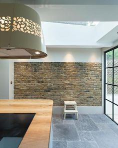 Whistler House - Chris Dyson Architects - Peter Landers Photography - Glazing Vision Flushglaze with Sky Only View Wall Finishes, House Extensions, Whistler, Victorian Homes, Ground Floor, Kitchen Interior, Dining Table, Flooring, Living Room