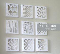 Paper quilt... amazing