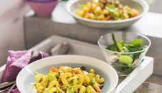 Wenn es einmal fleischlos sein soll, schmeckt dieses Nudelgericht von MAGGI mit Veggie Hack und Gemüse trotzdem herzhaft.