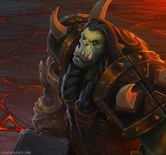 Orgrim Doomhammer, rafael zanchetin on ArtStation at https://www.artstation.com/artwork/orgrim-doomhammer-44922da0-0920-4e9d-b404-e8de2781a2f0