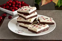 Paleo Peppermint Bark by LivingHealthyWithChocolate.com #paleo #christmas #healthytreat