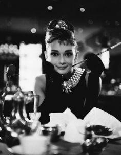 - Audrey Hepburn, 'Breakfast Dish' from the film Breakfast at Tiffanys.