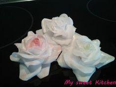 My sweet Kitchen: Rose aus Wafer Paper, gedrahtete Variante