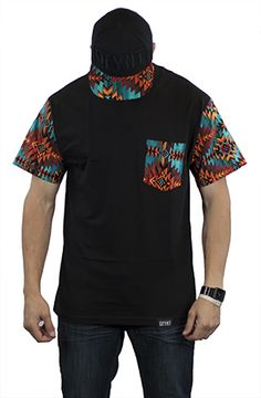 Aztec Sleeves by Defyant. GET 25%OFF USING REPCODE: FAIRMONT at www.karmaloop.com #MEN #FASHION #SUMMER #NEW #CLOTHES #TEE #SHIRT #CREWNECK