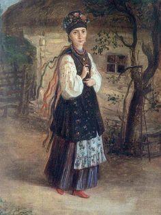 """К. Трутовський, """"Українка"""""""
