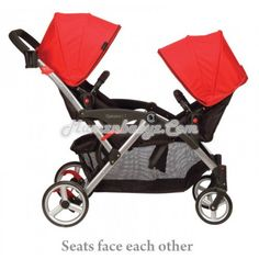 Some tandem strollers are big, bulky, and hard to fold, but not the Contours Options LT tandem stroller. This stroller weighs only 33.8 pounds with both seats on.