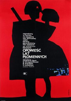 "Poster : ""OPOWIESC LAT PLOMIENNYCH"", 1963"