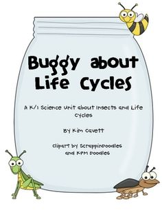 """A science unit about insects and life cycles: *Insect Web *Insect Facts *Insect or Not an Insect? *""""Go Buggy!"""" Game *Roll and Draw an Insect *Life Cycle of a Butterfly *Life Cycle of a Frog *Make Your Own Life Cycle *""""I Grow and. Plant Science, Mad Science, Science Lessons, Life Science, Science And Nature, Science And Technology, Kindergarten Science, Elementary Science, Teaching Science"""