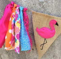 Flamingo birthday flamingo baby shower by ThatCraftyAuntieEm