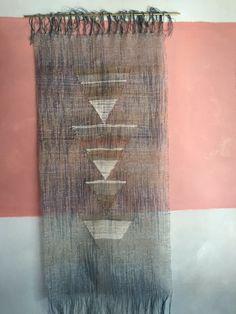Indigo and Metal Weaving Triangles