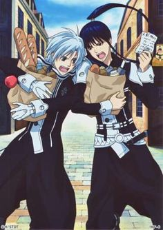 Kanda and Allen | la Black Order cuando a Allen le entra el hambre... Allen: Kanda ...