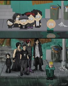16 times the south park goth kids saw into your empty black soul