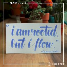 How do you #flow with life but also stay grounded? #mindfulmatter