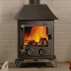 http://www.gr8fires.co.uk/yeoman-exmoor-multi-fuel-4-9kw-canopy-stove/?utm_source=Social&utm_medium=Social - Yeoman Exmoor Multi-fuel 4.9kw Canopy Stove small woodburner