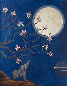 Conversations with the Moon by Mariann Johansen-Ellis