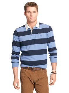 The international casual classic that can be incorporated into any look. The pure cotton heavy jersey fabric is soft against the skin and available in colors that range from standard to stimulating.  RUGBYS FOR STUCO
