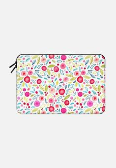 Leaves and Berries Macbook Pro Retina 15 sleeve by Nic Squirrell | Casetify