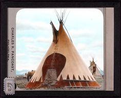 Buffalo Rock Tipi, Сиксика 1936 год.