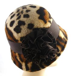 Reproduction 1920s Chanel hat