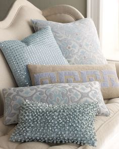 Pillow Collection by Dransfield & Ross at Horchow.