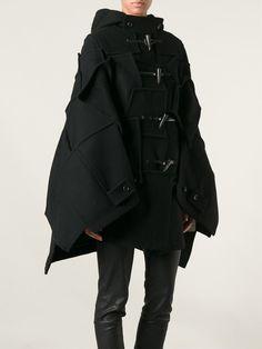 Junya Watanabe Comme Des Garçons Patchwork Cape Coat - - Farfetch.com