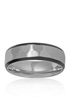 Belk  Co.  Mens Stainless Steel Ring
