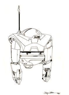 Zhodani Warbot by Sabakakrazny.deviantart.com on @DeviantArt