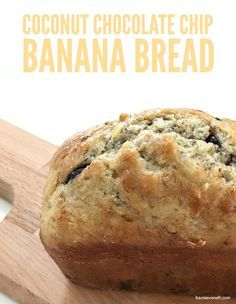 Looking to step up your banana bread game? Check out this Coconut Chocolate Chip Banana Bread recipe. Its perfect for busy weekday mornings or as a dessert Recipe : http://ift.tt/1hGiZgA And @ItsNutella  http://ift.tt/2v8iUYWLooking to step up y