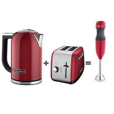 Chaleira Elétrica 1,7l + Torradeira + Mixer de Mão 2 velocidades Kitchenaid - KitchenAid