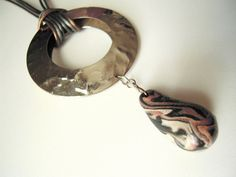 Brown silver and bronze colors mixed medium by AppoloniasGifts
