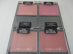 Wet N Wild Blush...very pigmented, inexpensive wonderful blushes. I have Berry Shimmer & pearlescent pink