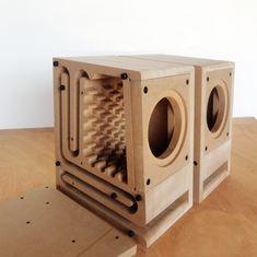 IWISTAO HIFI Speaker Empty Cabinet Kits Labyrinth Structure with High-density Fibreboard for Inches Full Range Speaker Unit Home Audio Speakers, Hifi Speakers, Sound Speaker, Bookshelf Speakers, Hifi Audio, Audio Box, Diy Subwoofer, Subwoofer Box Design, Speaker Box Design