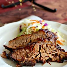 Delicious Oven Cooked Barbecue Brisket Recipe Main Dishes with brisket, celery salt, garlic powder, onion salt, liquid smoke, worcestershire sauce, barbecue sauce