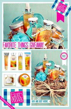 Enter to win a $100 Bath and Body Works Gift Card... For sure they have some of my favorite things!!!