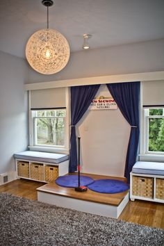 Children's Playroom - stage   Autumn Rae Interior Design