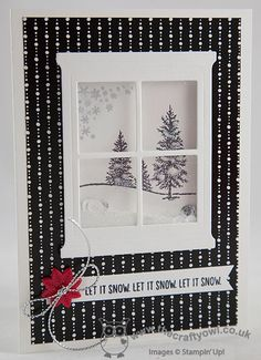 Happy Scenes - Christmas - The Crafty Owl | The daily blog of Joanne James <br />Independent Stampin' Up! Demonstrator -- <a href=mailto:joanne@thecraftyowl.co.uk>joanne@thecraftyowl.co.uk</a>