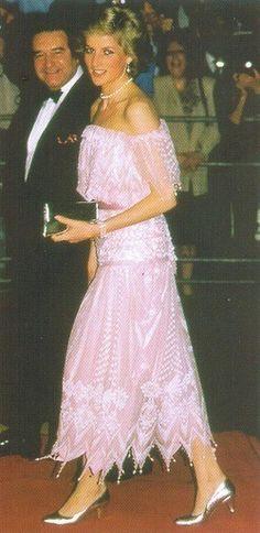 Princess Diana tours Japan, 1986