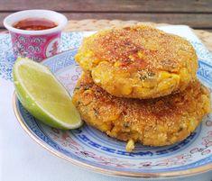 Thai Corn Cakes with Chili Sauce