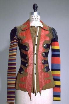 Stephen Burrows jacket, Fall 1971, collection of The Museum at FIT.