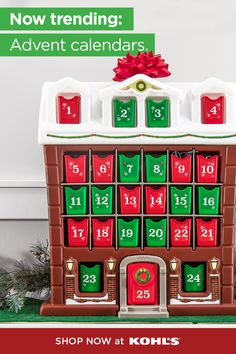 Add a little magic to the holiday season with advent calendars for your kids. Counting down to Christmas is even more fun with a small treat each day—whether it's socks, scrunchies or candies, there's something perfect for everyone. Shop advent calendars and more Christmas gifts at Kohl's and Kohls.com. #adventcalendars #christmastraditions Holiday Gifts, Christmas Gifts, Holiday Decor, Advent Calendars For Kids, 25 Days Of Christmas, Christmas Traditions, Kohls, Scrunchies, Candies