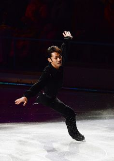 Daisuke Takahashi Photos Photos - Daisuke Takahashi of Japan performs his routine in the Gala exhibition during All Japan Figure Skating Championships at Saitama Super Arena on December 24, 2013 in Saitama, Japan. - All Japan Figure Skating Championships: Day 4