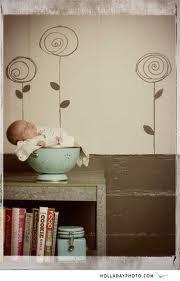 Colander...and soooo many adorable newborn photo ideas!
