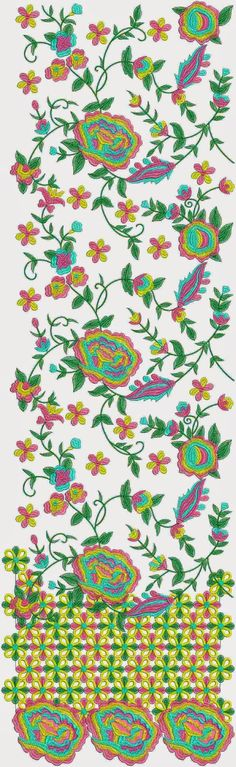 Spaanse Renaissance borduurwerk Lawn pak