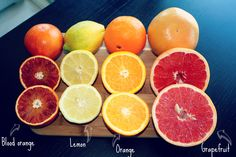 Favorite citrus fruits, ready to be pressed.