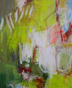 "Lars Kristian Hansen - ""What did you see my blue eyed son"", Akryl, blandteknik på lærred, 120x100 cm"